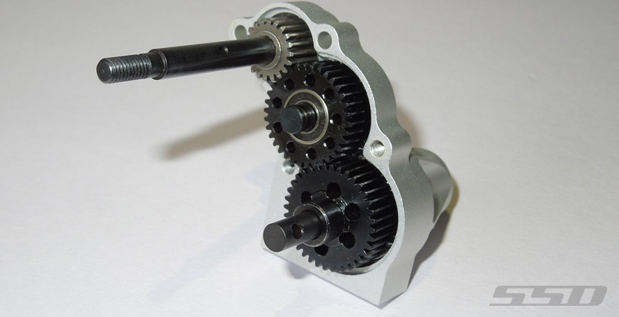 "Kit de transmission "" HIGH RATIO "" Axial WRAITH Hrt-main"